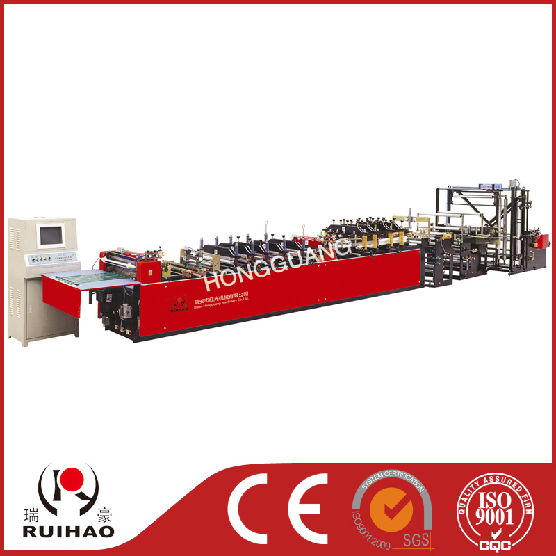Automatic Three-Edge Sealing Bag Maker with Self-Support Bag Machine