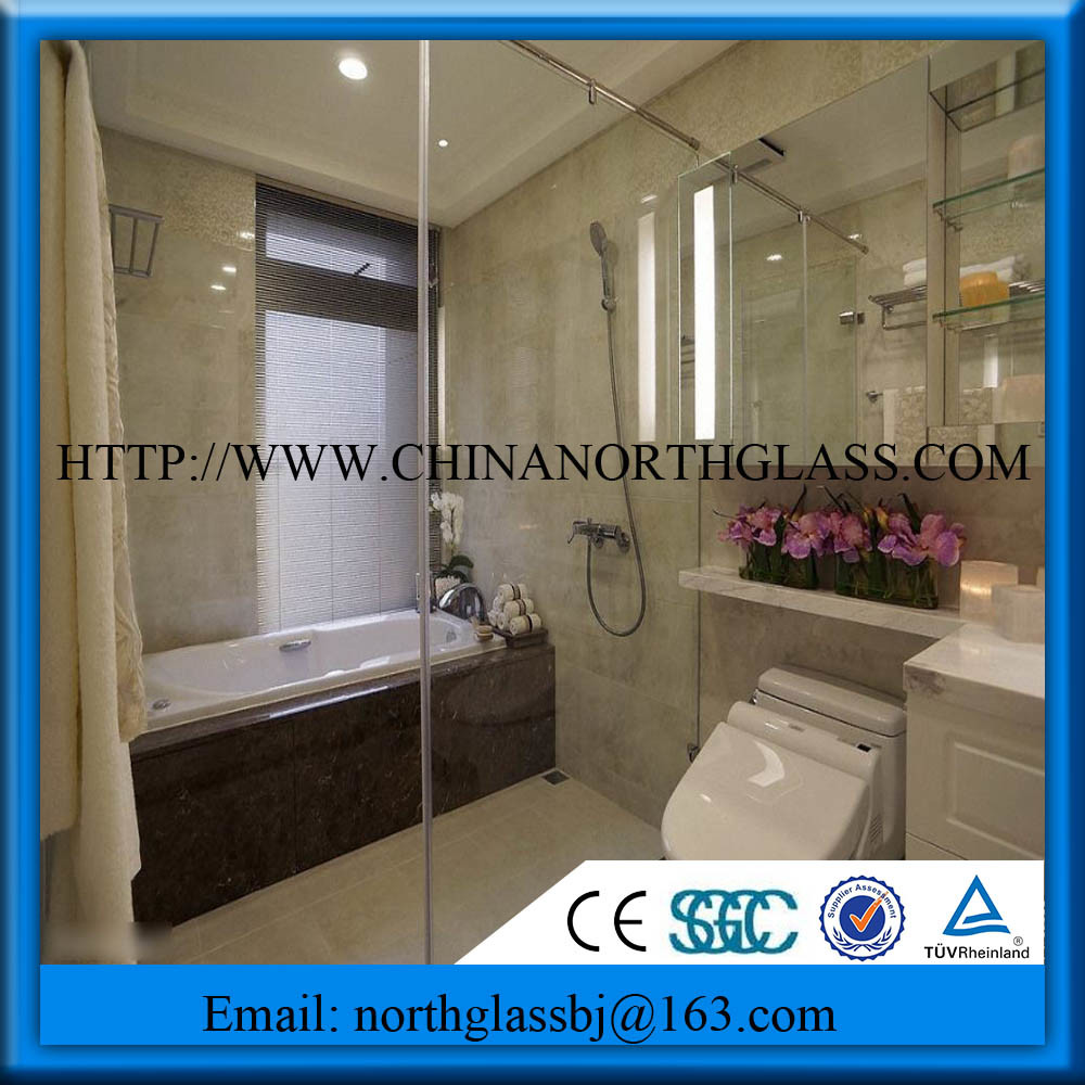 Ce/CCC/SGS/ISO Certificate Factory Selling Tempered Shower Glass Partion