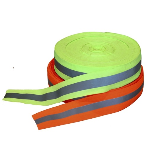Yellow/Orange Reflective Warning Tape (oxford)
