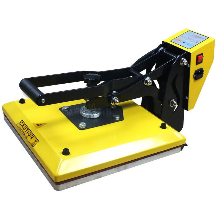 Fashion Yellow 15′x15′ High Pressure T-Shirt Heat Transfer Press Machine