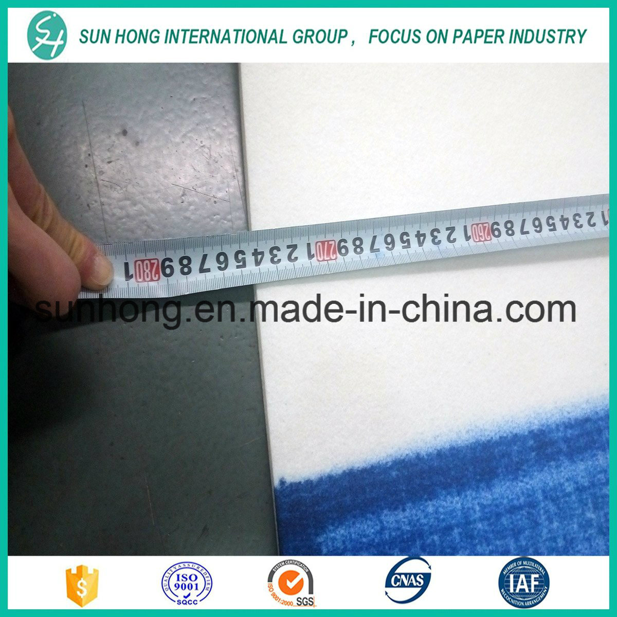 Press Felt for Paper Making Industry