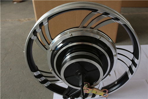 2kw Brushless DC Motor, Rear Wheel Hub Motor