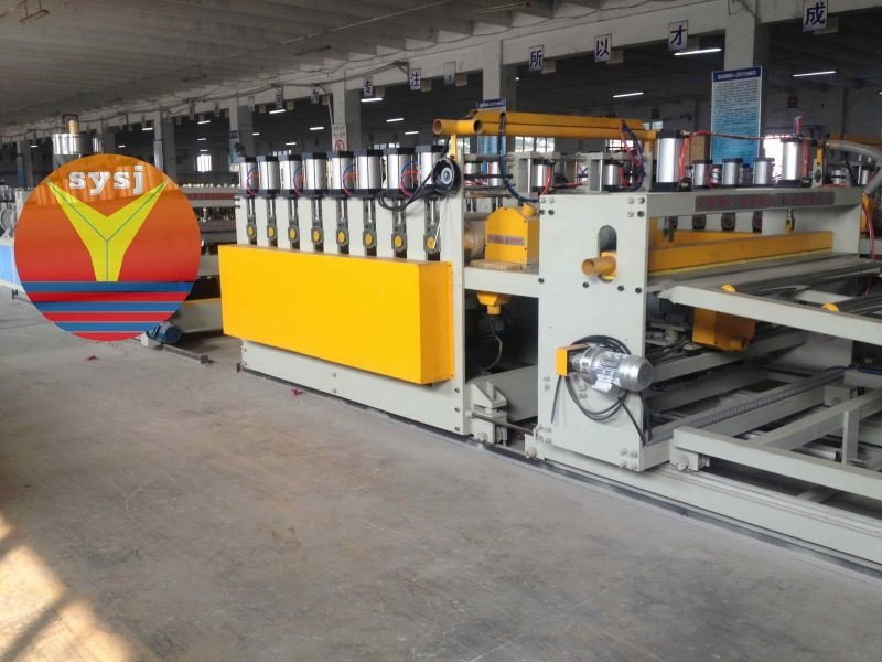 PVC Plastic Formwork Machine for Construction