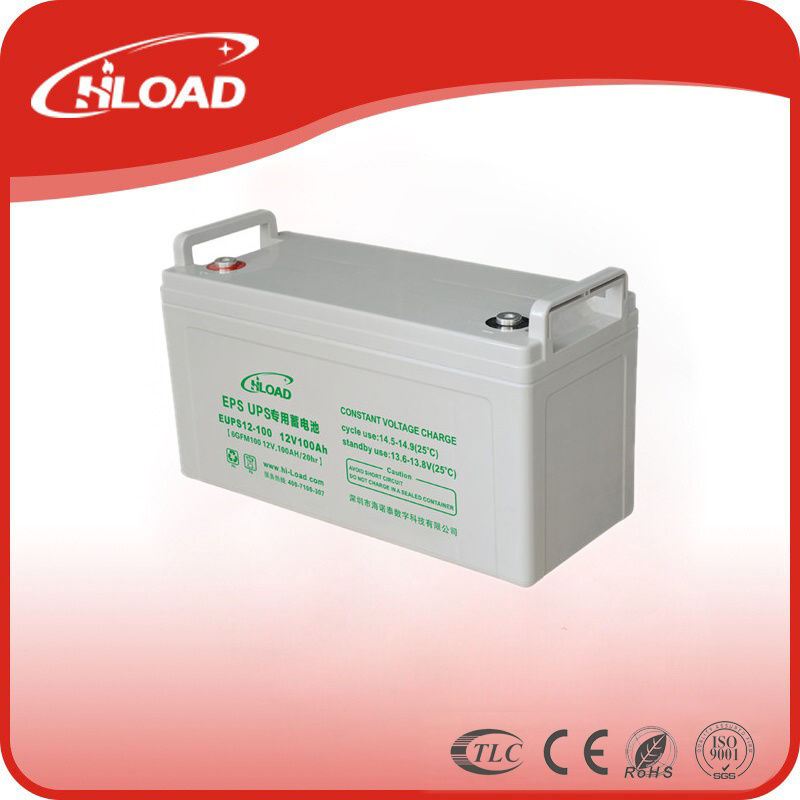 12V 100ah AGM Deep Cycle Lead Acid Battery Storage Battery for Solar