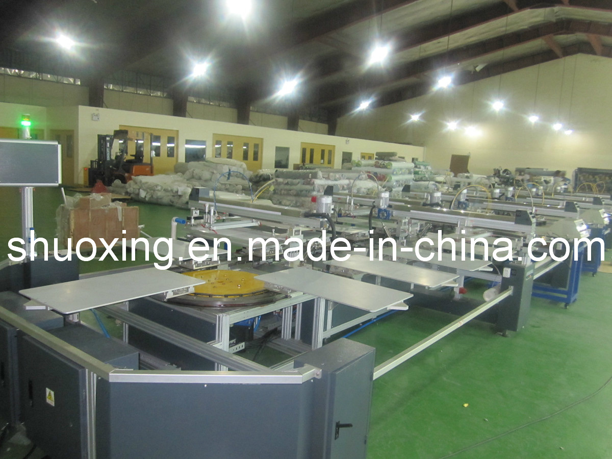 Oval Automatic Textile Screen Printing Machine, Automatic T-Shirt Screen Printer