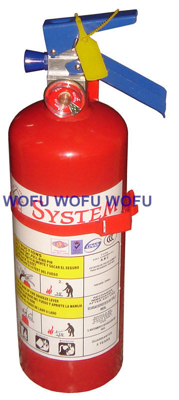 2kg Dry Powder Fire Extinguisher for Mexico