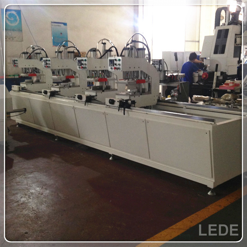 Window Machine PVC Window Four Head Seamless Welding Machine