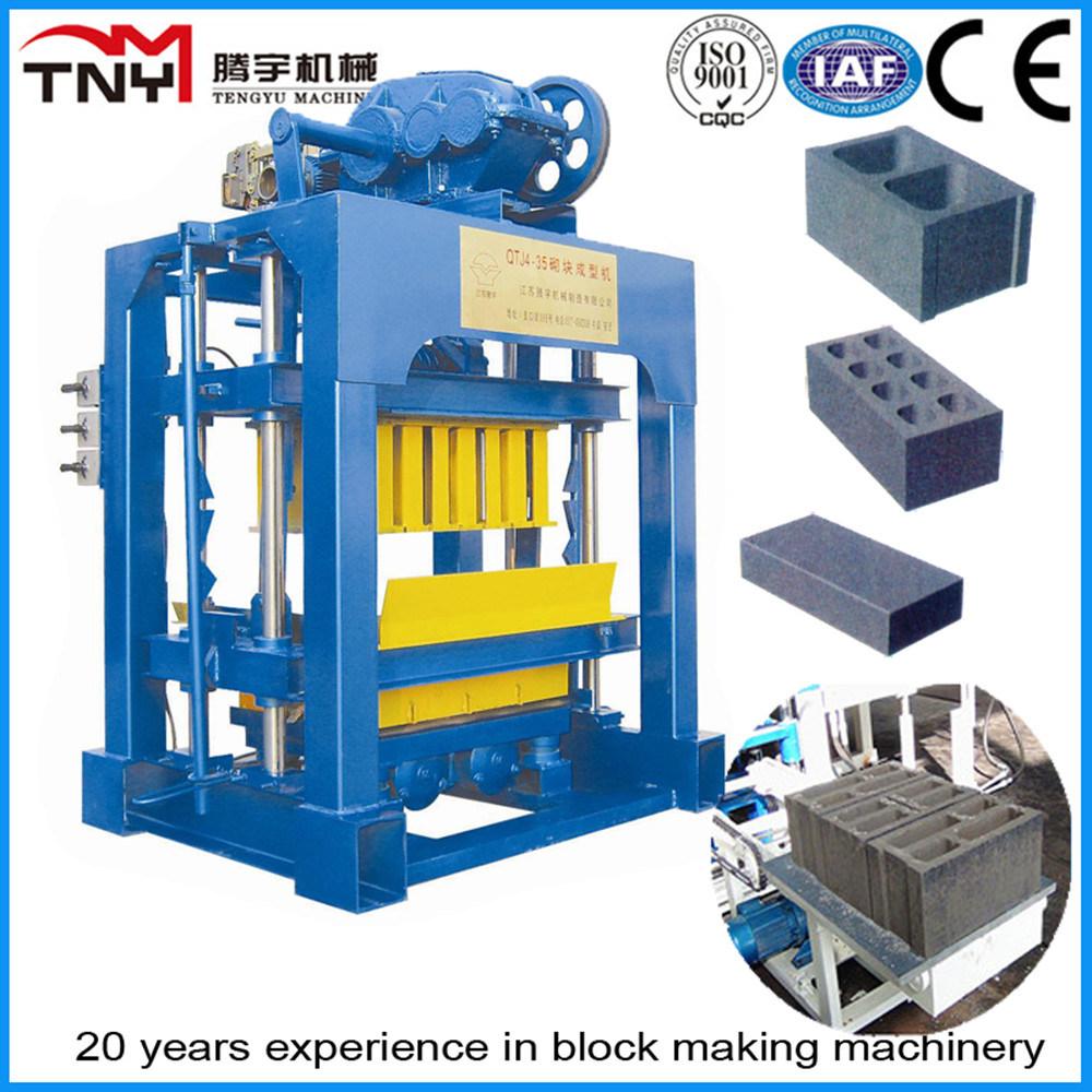 Qtj4-35 Hollow Block Making Machine