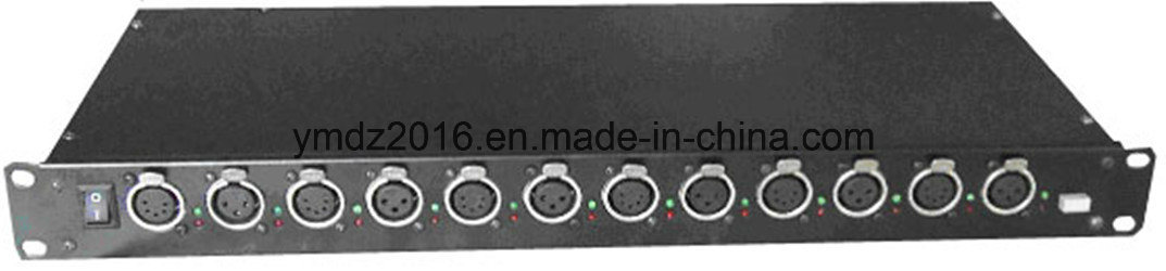 6 Ways DMX 512 Splitter/Distributor/Amplifier