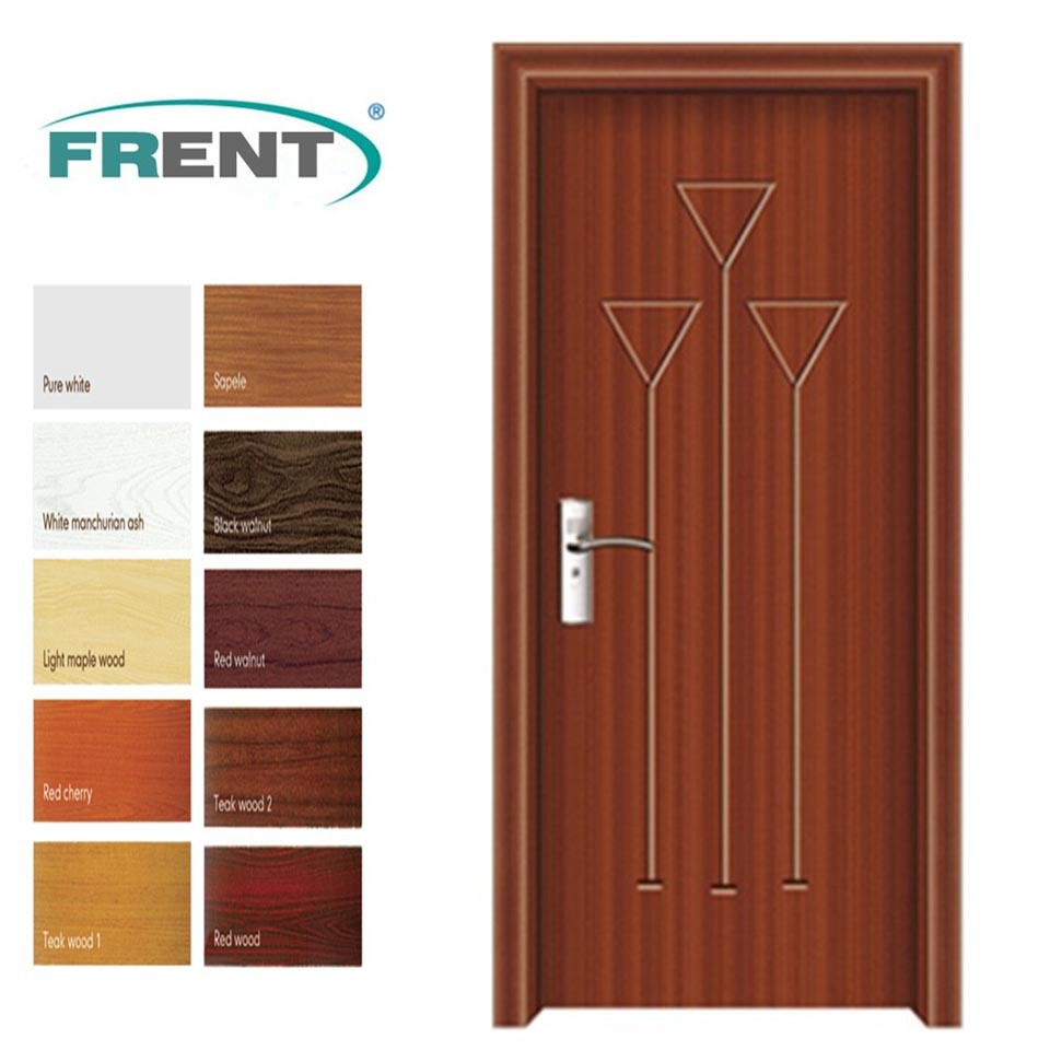 Pvc Door And Pvc Interior Manufacturer: China Wooden PVC Door Designs