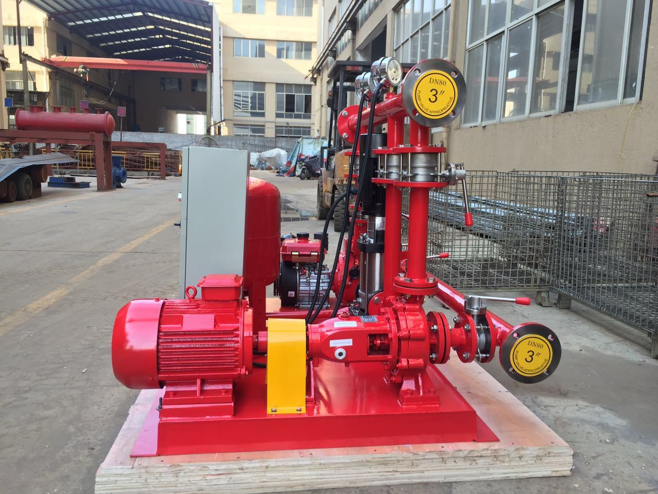 Fire-Fighting Pump Set