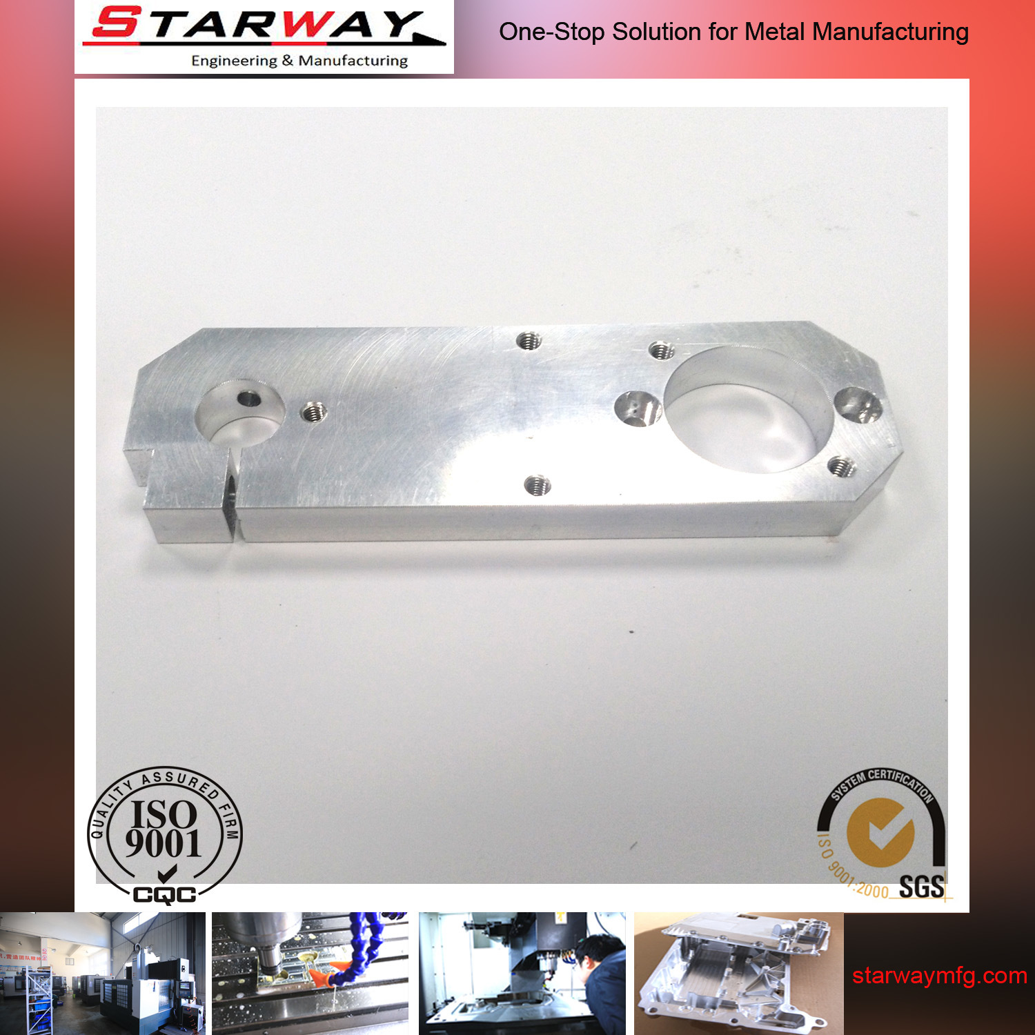 ODM Spare Parts by Precision Machining CNC Aluminum