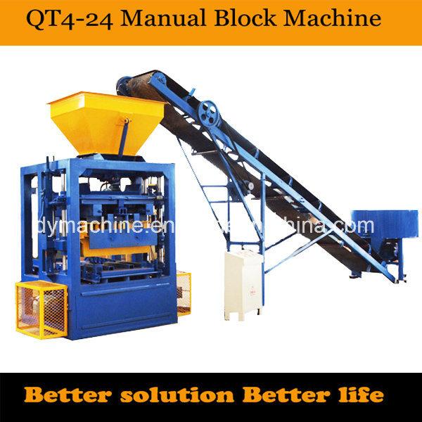 Standard Brick Making Machine Qt4-24 Dongyue Machinery Group