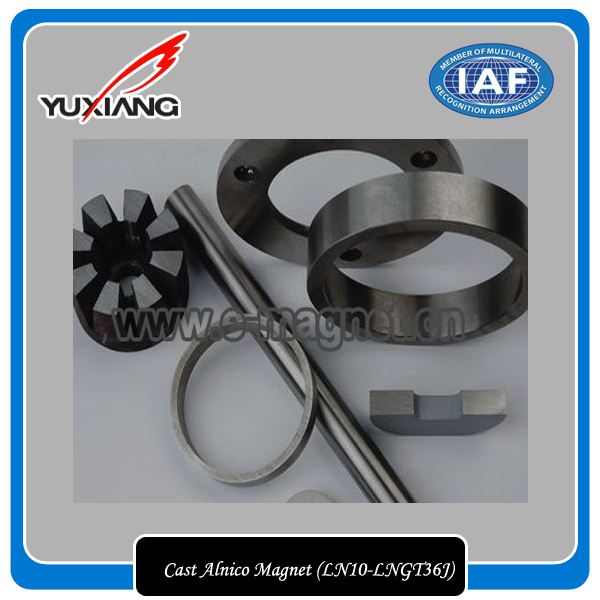 High Quality Cast AlNiCo Magnet (LN10-LNGT36J)