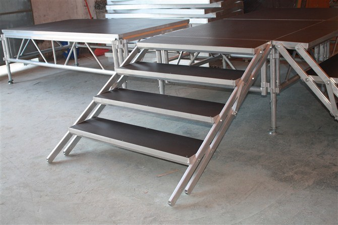 Outdoor Concert Stage Truss Aluminum Portable Stage