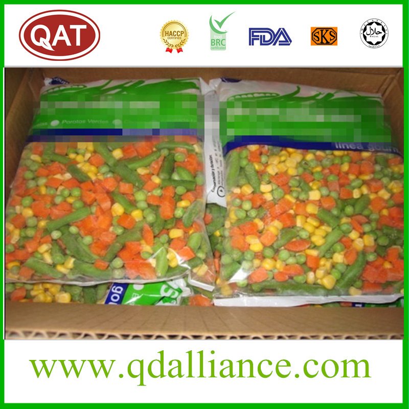 IQF Spring Mixed Vegetable IQF California Mixed Vegetable