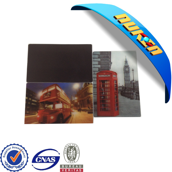 High Quality Plastic 3D Lenticular Fridge Magnet