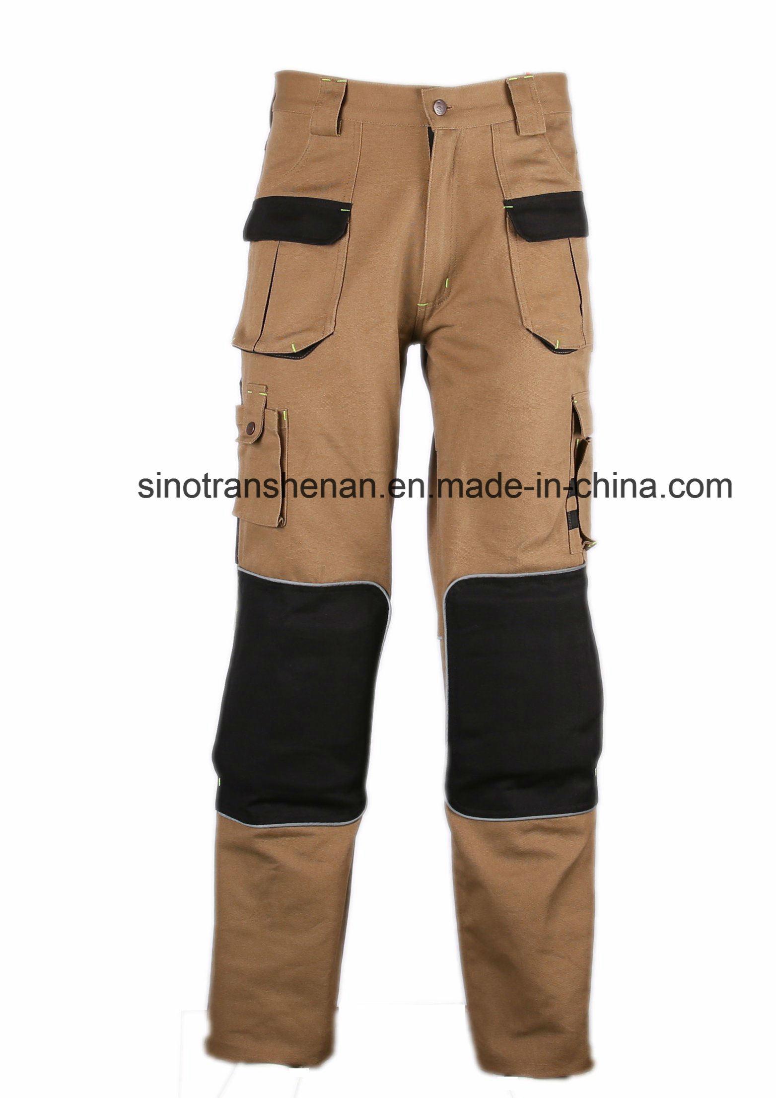 100% Cotton Cargo Pants Work Pants