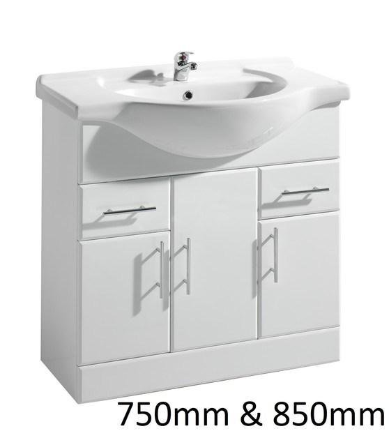china bathroom cabinet white vanity unit basin without tap. Black Bedroom Furniture Sets. Home Design Ideas