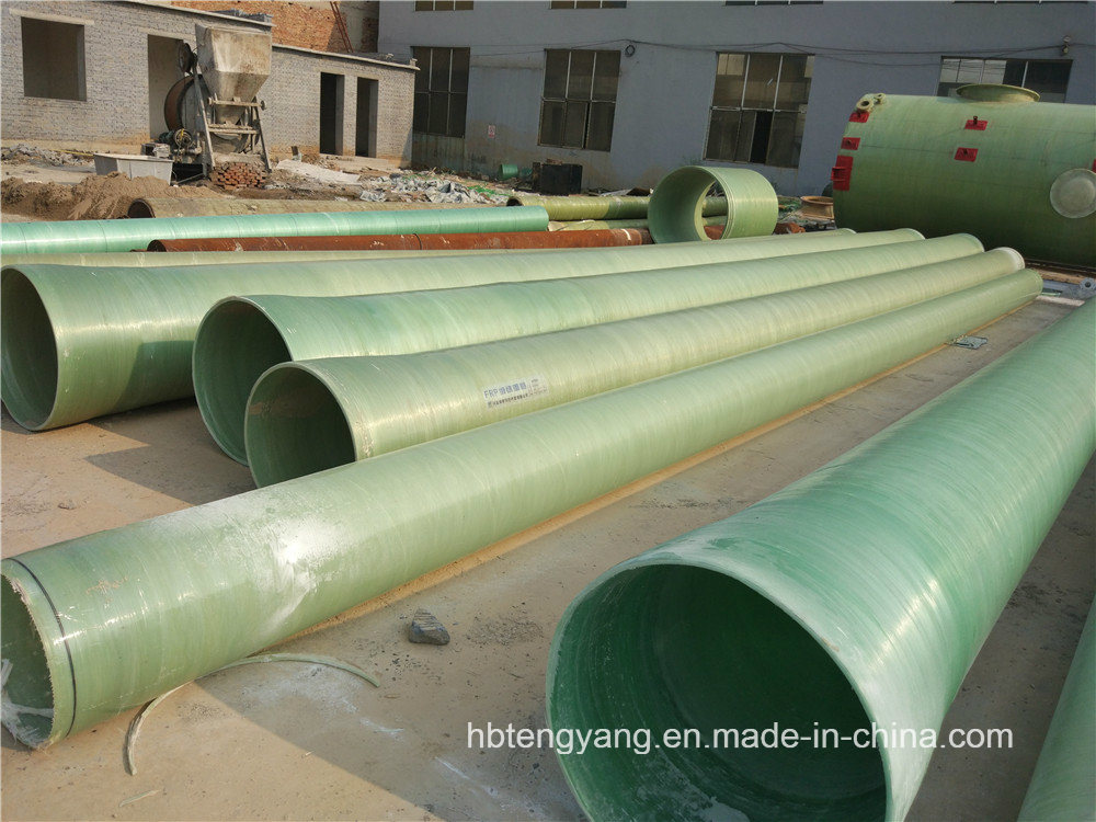 FRP GRP Fiberglass Composite Pressure Epoxy Resin Water and Oil Pipe