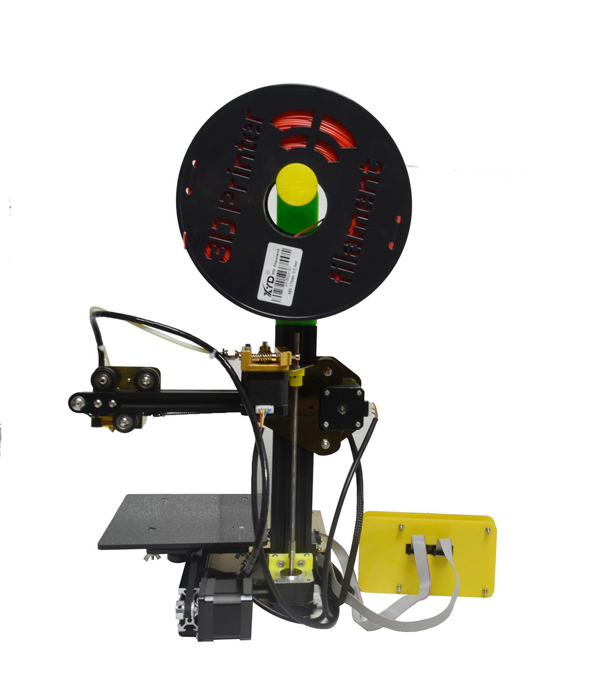 Mini Portable Aluminum Cantilever Rapid Prototype DIY 3D Printer Machine
