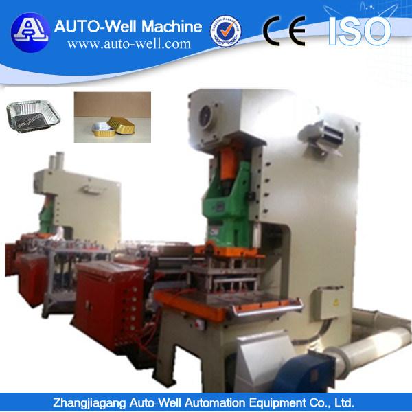 Disposable Aluminum Foil Food Container Making Machine