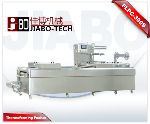 Automatic Continuous Vacuum Thermoforming Packing Machine