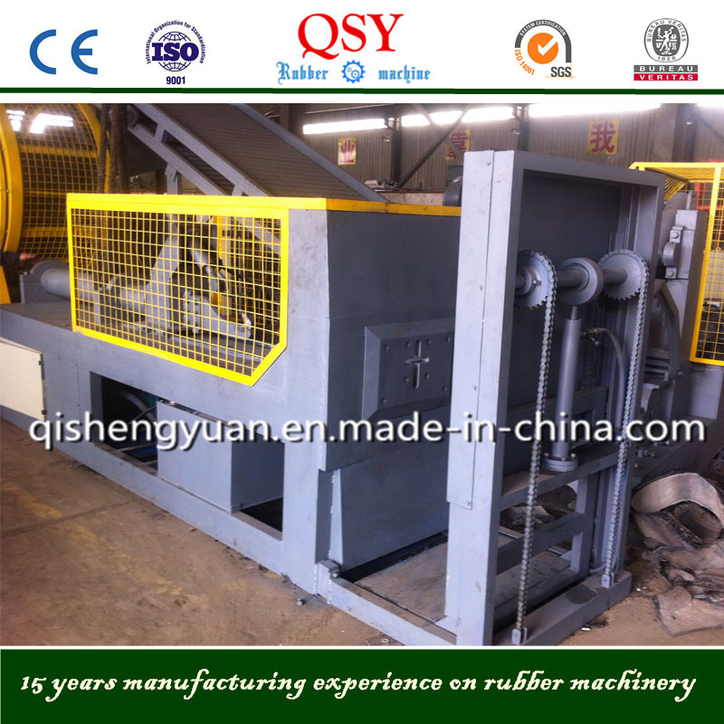 Waste Tire Debeader Machine for Tire Recycling Plants