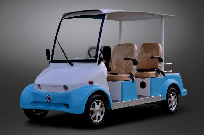 Dongfeng Electric 4 Seater Sightseeing Car for Sale