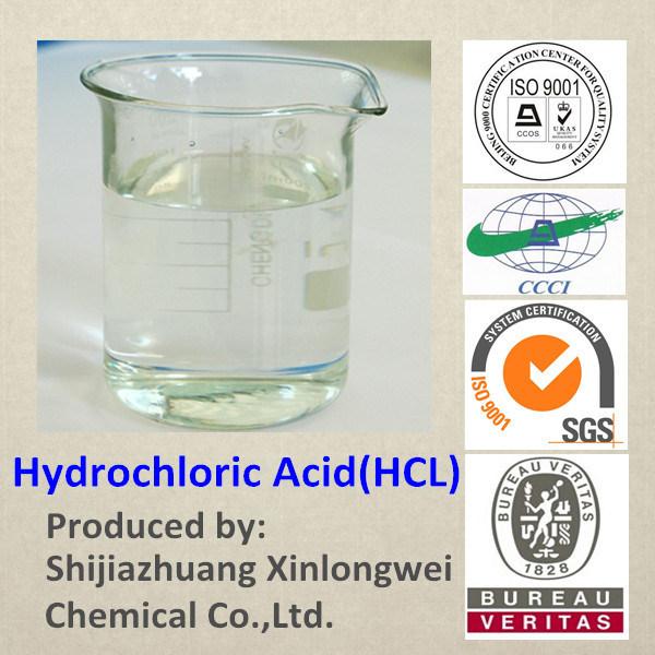 Industrial Grade Hydrochloric Acid 31% 32% 33% 34% 35% 36% 37%