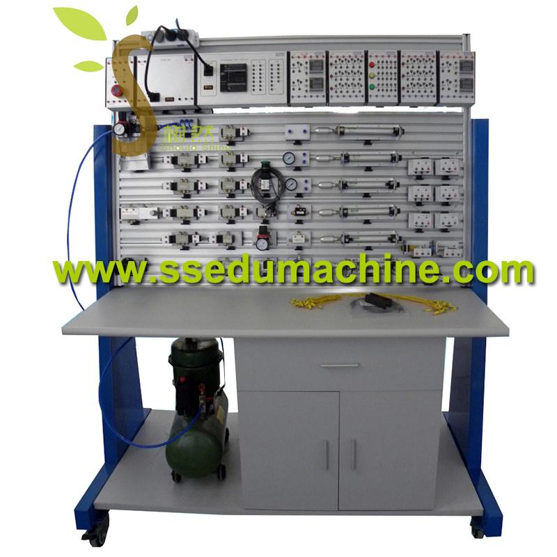 Pneuamtic Transmission Trainer Pneuamtic Circuit Teaching Model Pneumatic Trainer