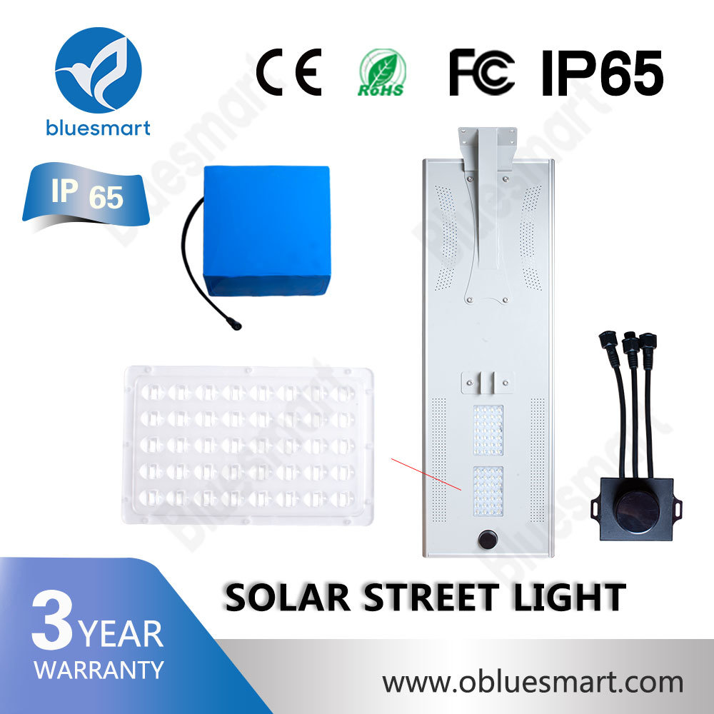 Classical Outdoor Lighting Solar Light 40W All in One Solar Street Light