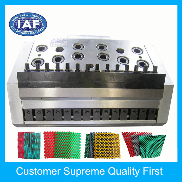 Factory Custom 300mm Small Plastic Extrusion Sheet Mould for Floor Mat