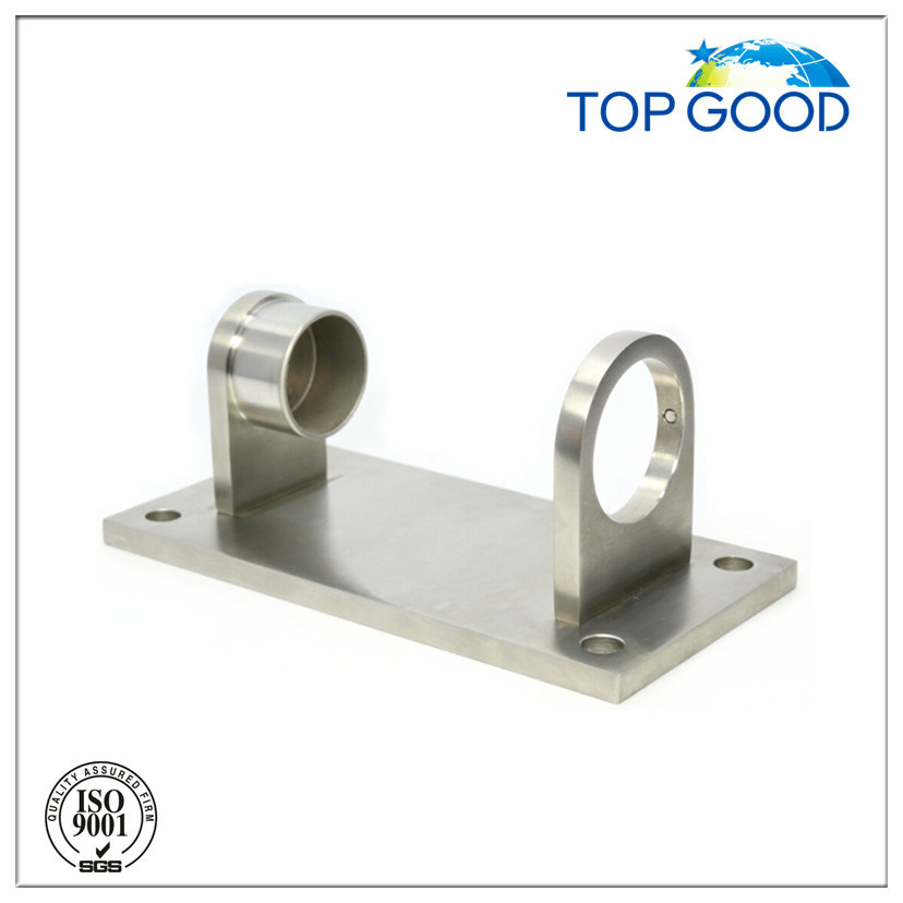 Balcony Handrail Pipe Holder Post Wall Mount