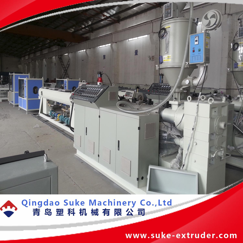 Plastic PE/PE/PVC Pipe Extrusion Making Extruder Machine