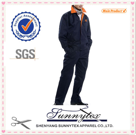 Long Sleeve Winter Polycotton Cheap Price Work Coverall