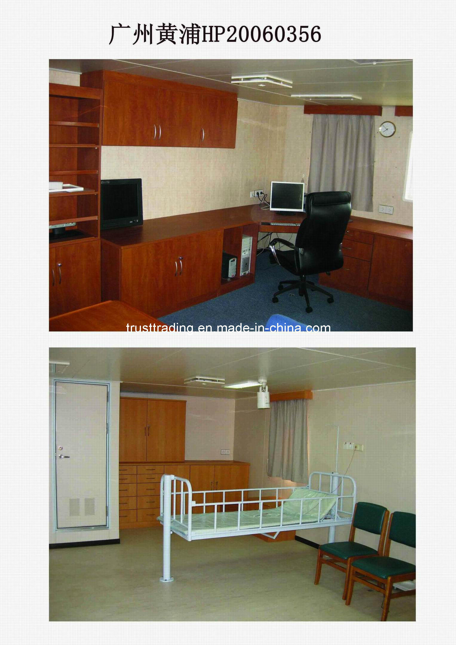 Marine Modular Cabin Furnitures / Bedroom Furniture / Wardrobe