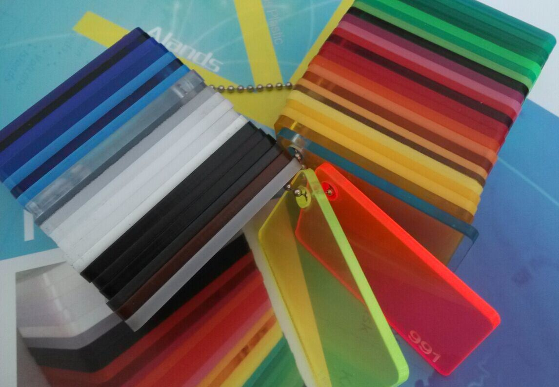 Fluorescent Colors Cast Acrylic PMMA Sheets