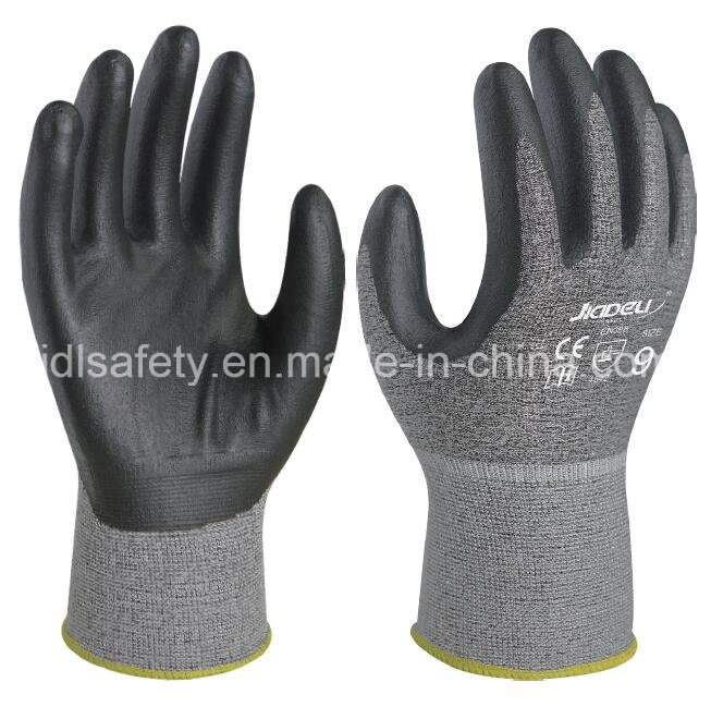 Cut Resistant Work Glove with Foam Nitrile Coating (K8085-18)