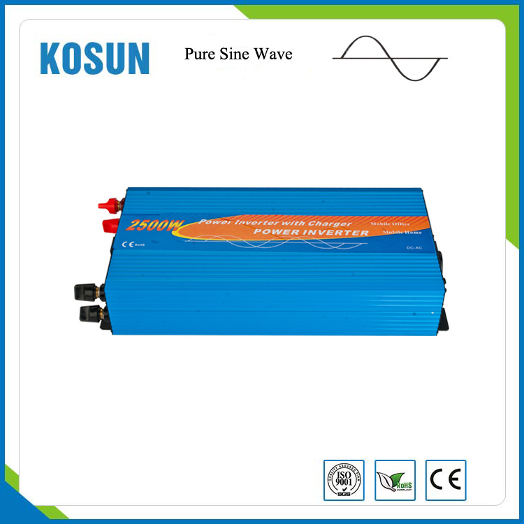 2500W Pure Sine Wave Inverter with UPS Function Power Supply
