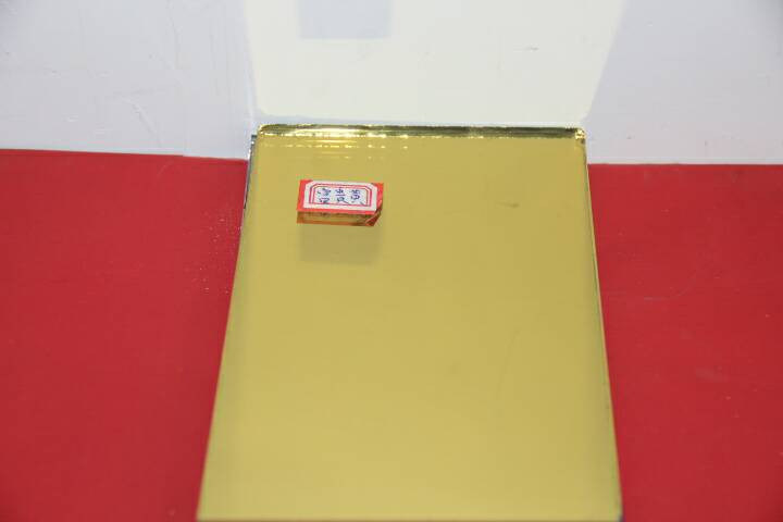 Float Glass Aluminium Mirror, Silver Mirror, Color Coating Glass Mirror