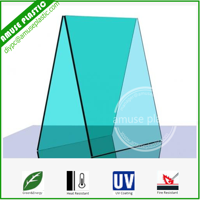 Plastic Lexan Polycarbonate Glazing Panels PC Solid Lighting Roofing Sheets
