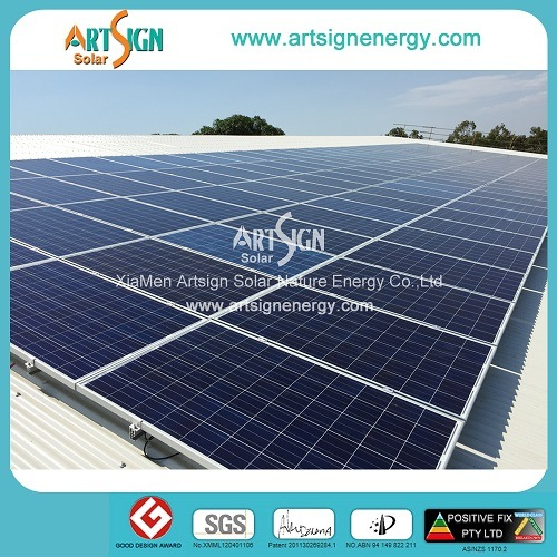 Solar Mounting Structure for Tin Roof Top Solar Panels PV Brackets