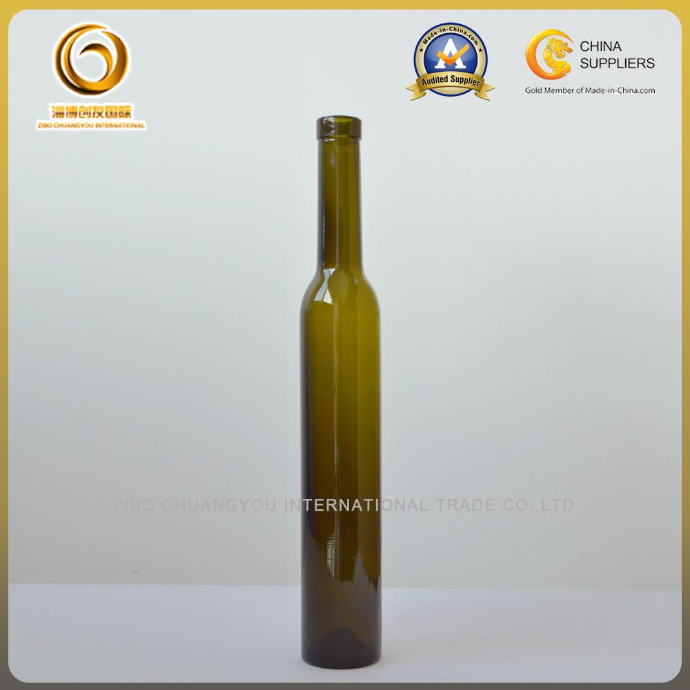 375ml Green Cork Top Ice Wine Bottles (030)