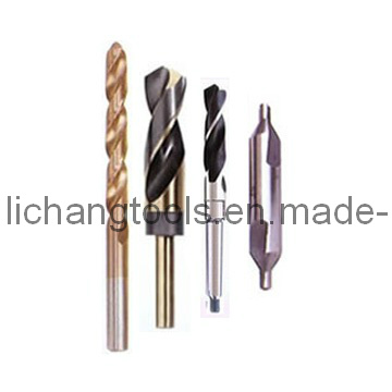 HSS Twist Drill Bits with Various Surfaces and Various Materials