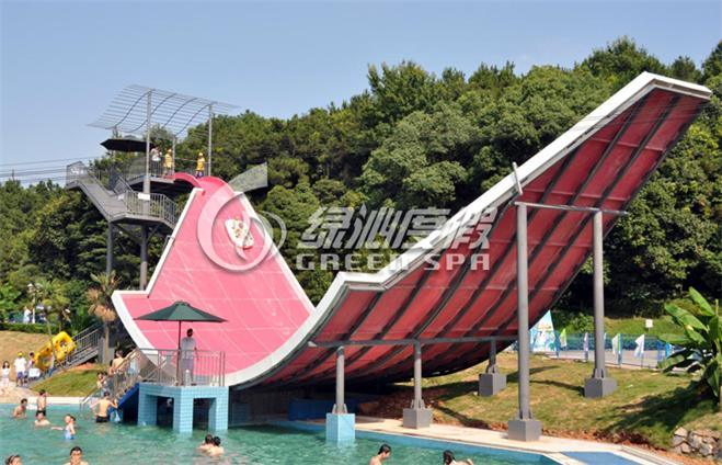 Swing Water Slide for Water Park