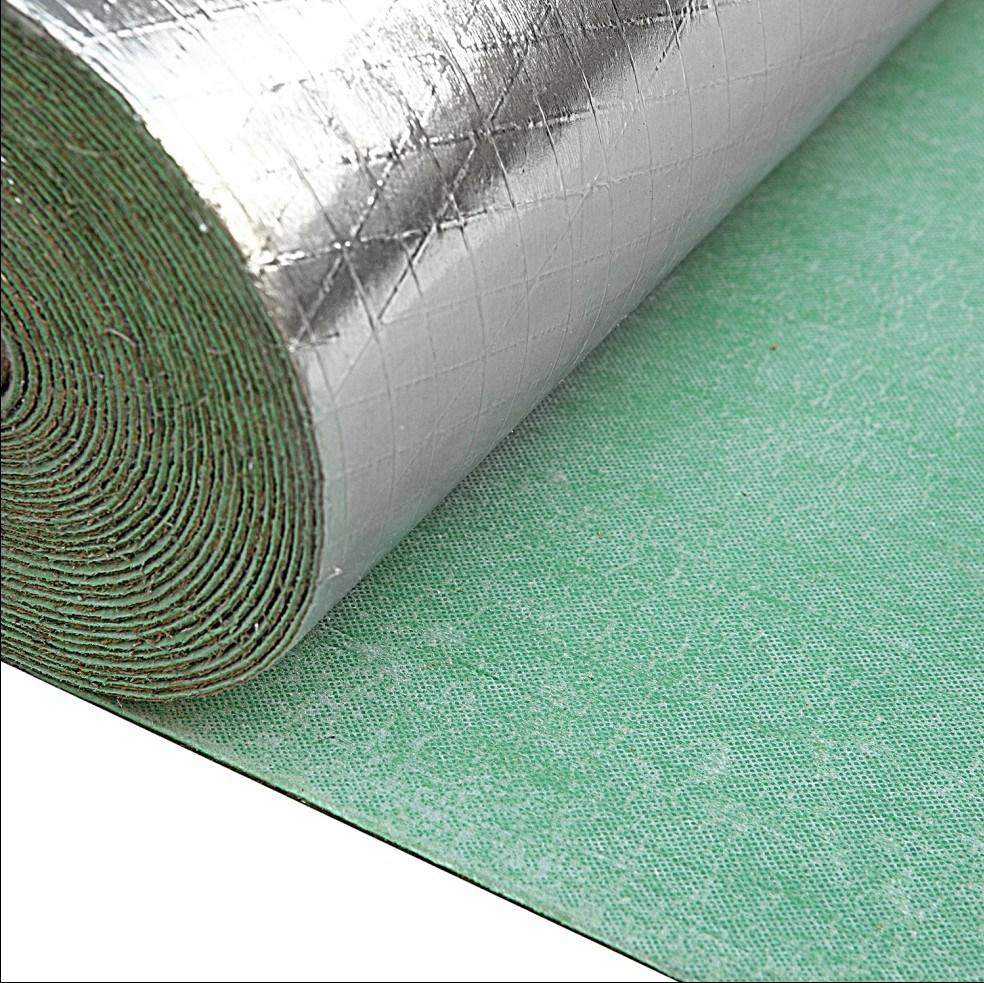 Underlay for laminate flooring laplounge for Rubber laminate flooring