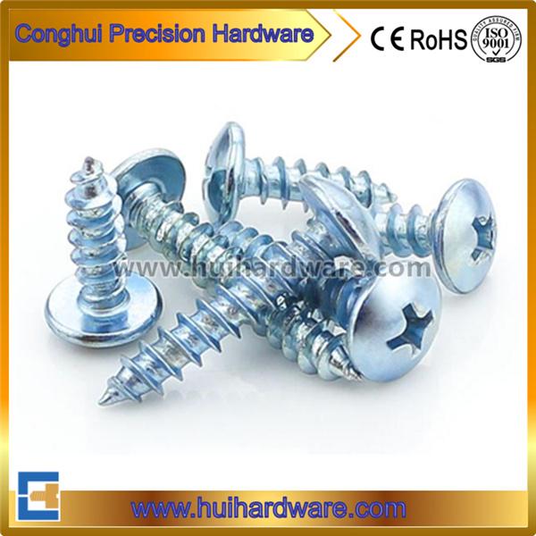Carbon Steel Galvanized Mushromm/Truss Head Self Tapping Screws
