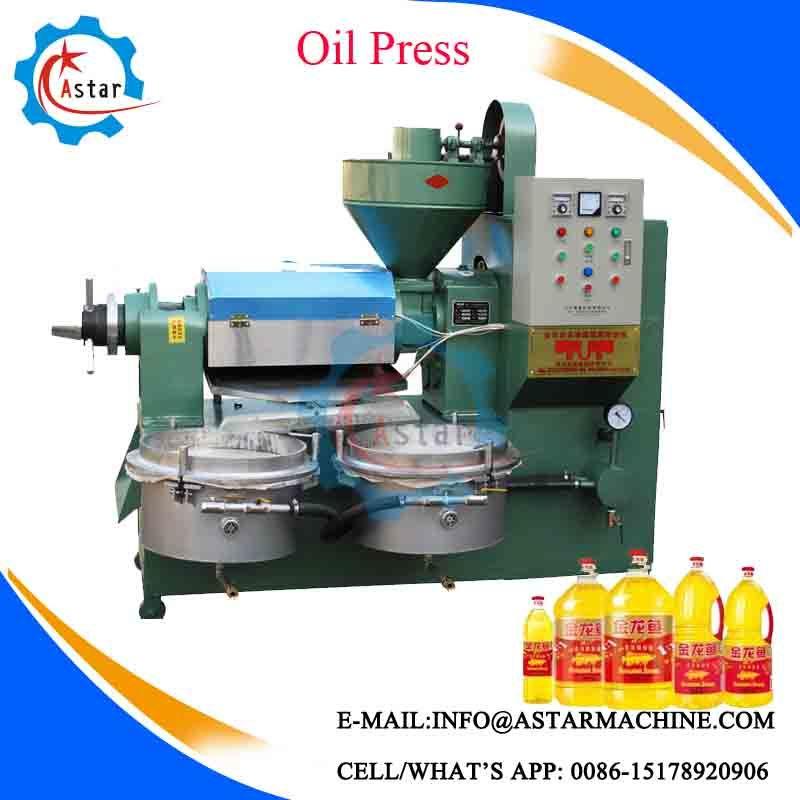 Full Automatic Vegetable Peanut Oil Press