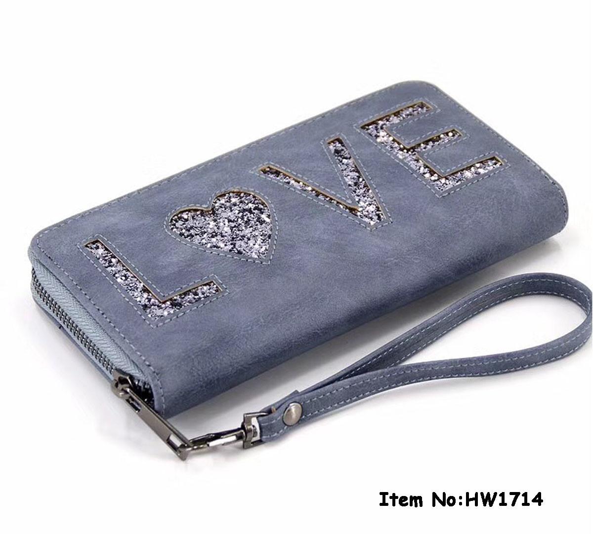 2018 Fashion Women PU Leather Wallet (HW1714)
